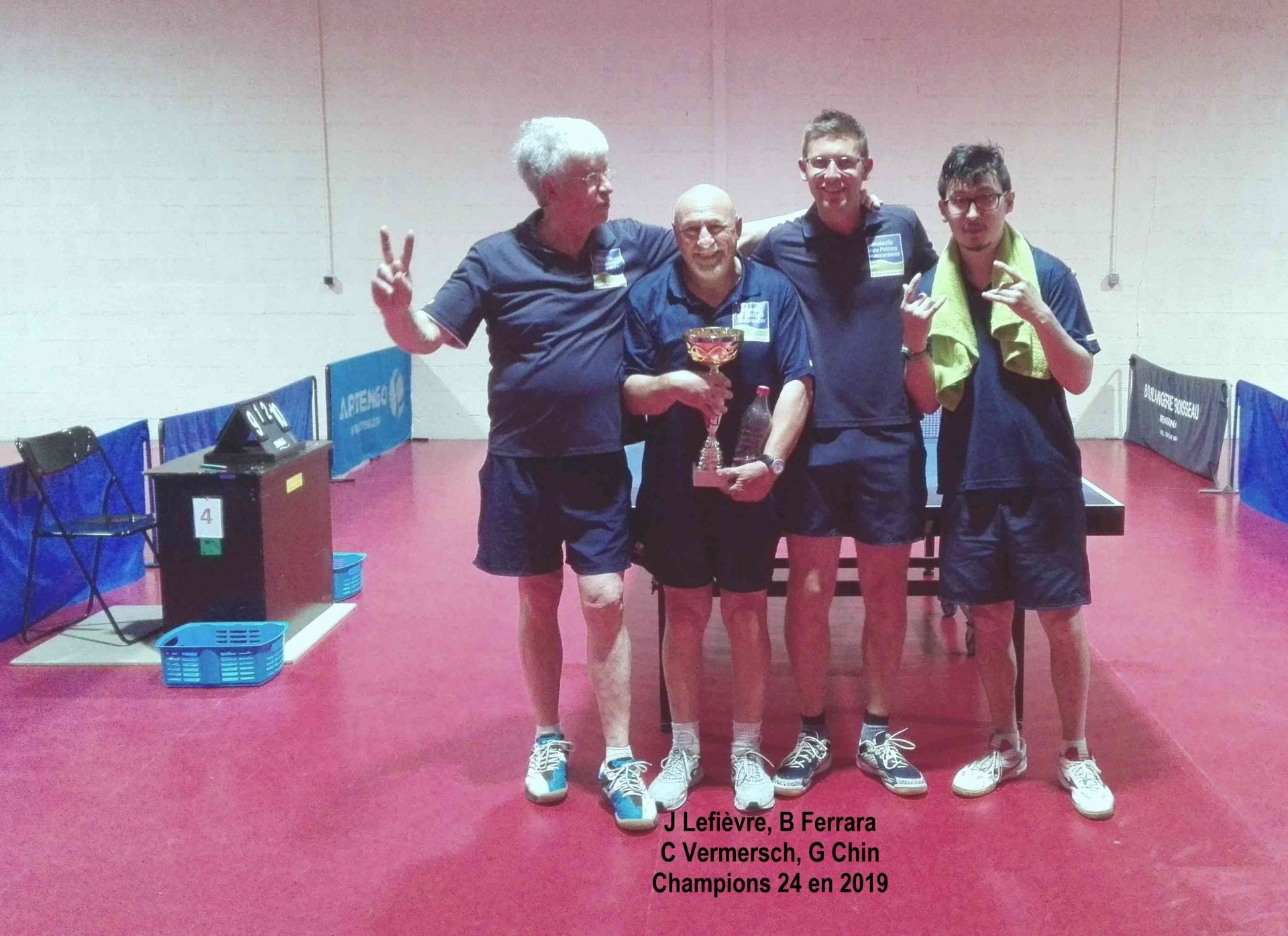 Les champions de dordogne en pre regional